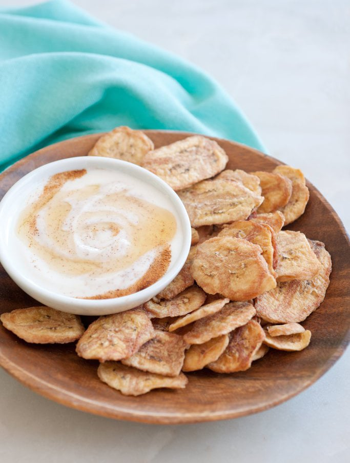 Banana Chips and Dip