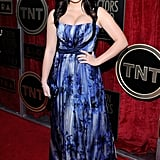 Modern Family star Ariel Winter walked the red carpet in a printed gown.