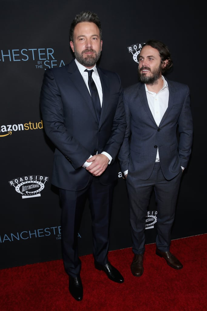 Matt Damon and Ben Affleck at Manchester by the Sea Premiere