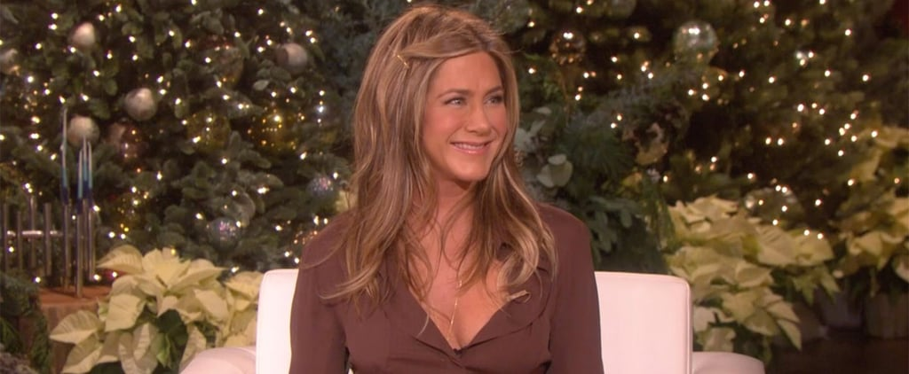 Jennifer Aniston Talks About Boxing on Ellen DeGeneres Show