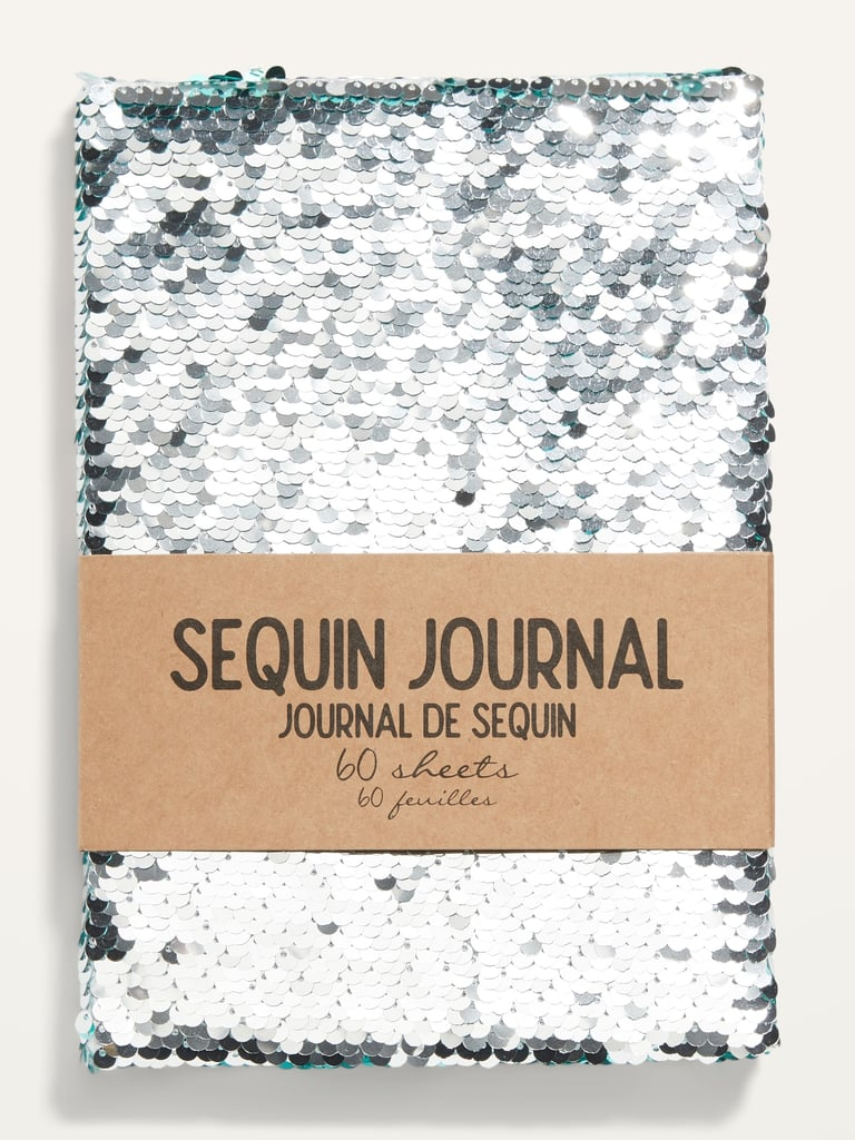 IG Designs Flippy-Sequin 60-Page Journal Notebook