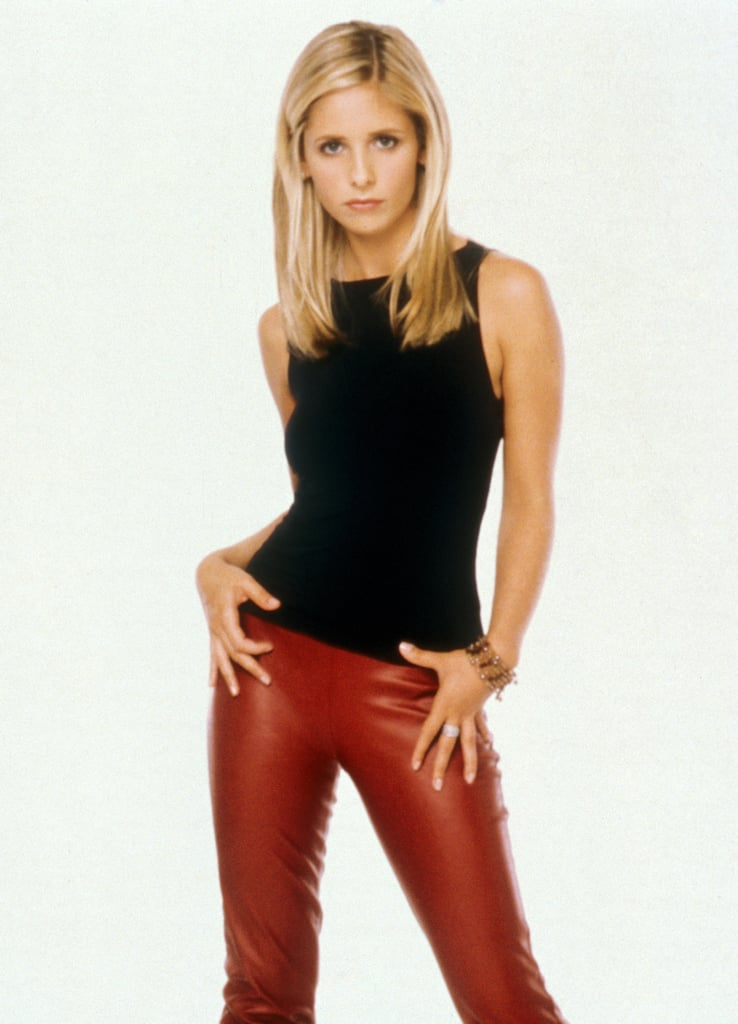 These red leather pants are as badass as it gets.