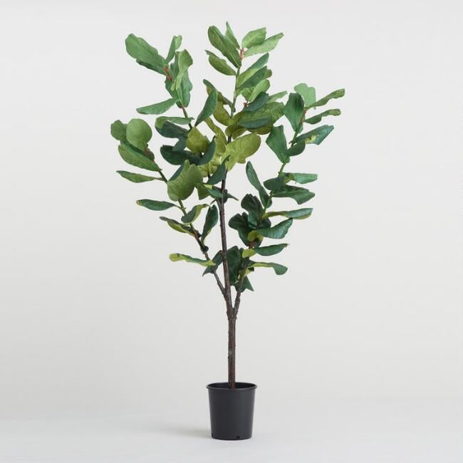 Faux Fiddle-Leaf Fig Tree