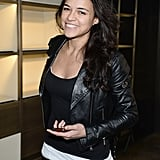 Michelle Rodriguez at Fendi