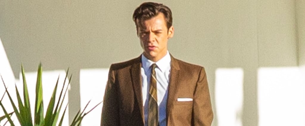 See Harry Styles's Suits on the Set of Don't Worry Darling