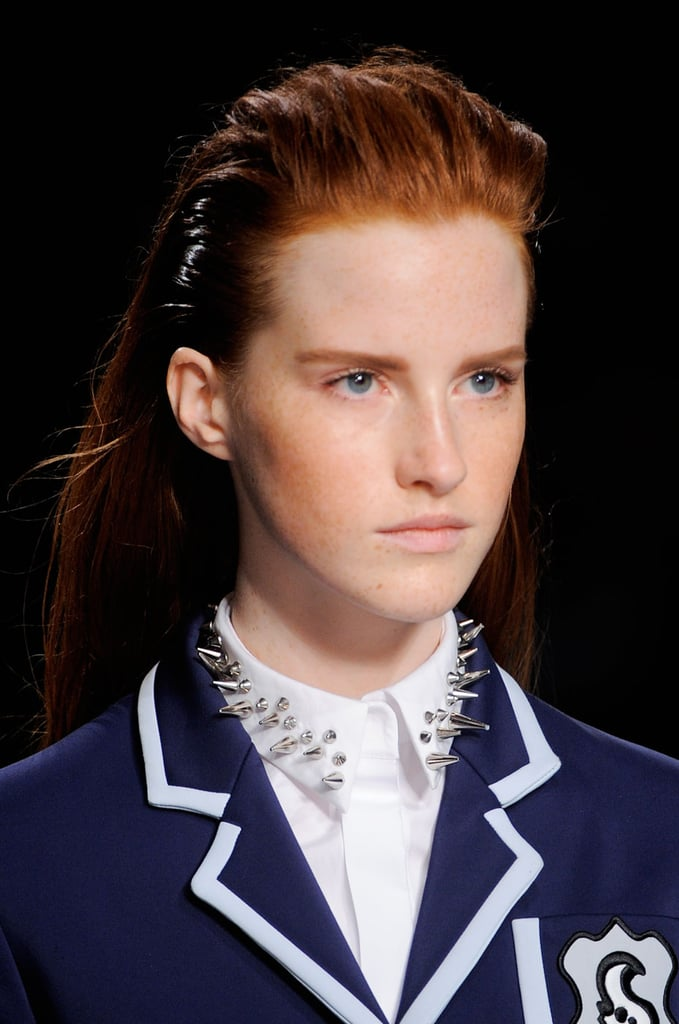 Stupendous Viktor Rolf Spring 2014 Hair And Makeup Runway Pictures Short Hairstyles Gunalazisus