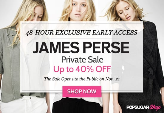 Early Access to James Perse's Private Sale