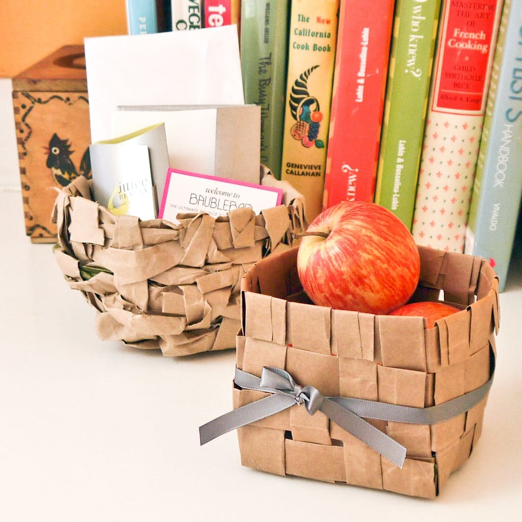 Paper Bag Basket