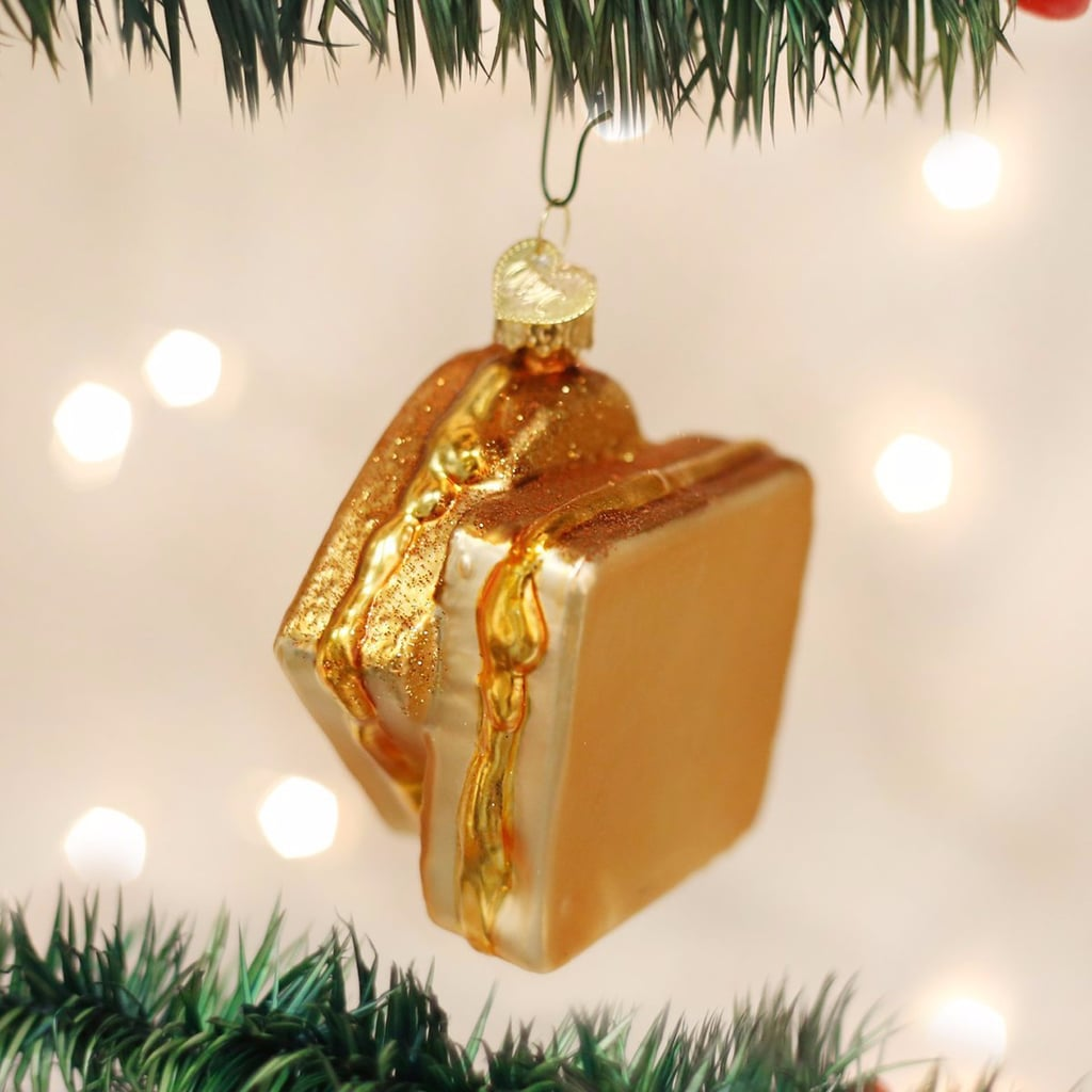 Grilled Cheese Christmas Ornament
