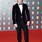 Taron Egerton at the 2020 BAFTAs in London
