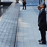 Observing the 9/11 memorial together in 2011