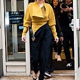 Selena Gomez Wearing Proenza Schouler in NYC