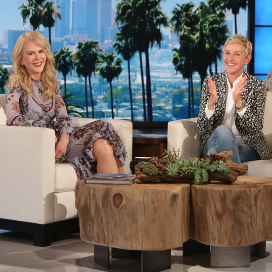 Nicole Kidman on The Ellen DeGeneres Show May 2017