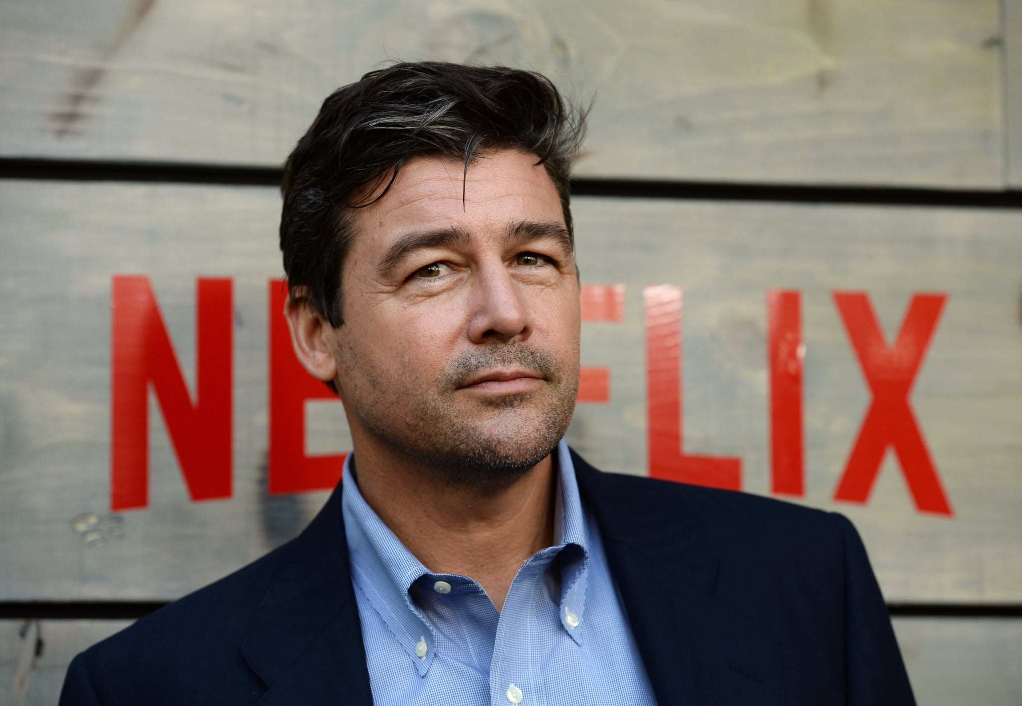 LOS ANGELES, CA - MAY 24:  Actor Kyle Chandler arrives at the premiere of Netflix's
