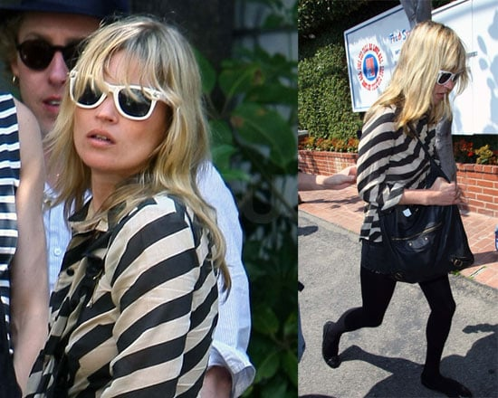Kate Moss Shops at Fred Segal While Tensions Rise with Agyness Deyn