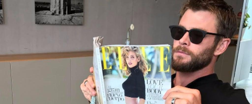 """Chris Hemsworth Calls Wife Elsa a """"Wild Beauty"""" in Adorable Instagram"""