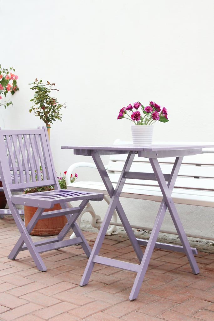 Give Your Outdoor Furniture a Colorful Makeover