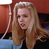 Kelly's hair was the epitome of a California GIrl in the first years: long, blond, and pretty.