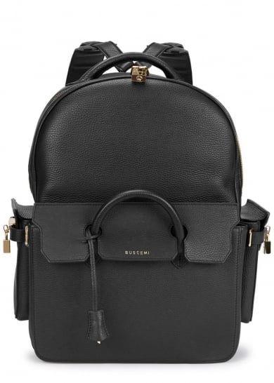 Buscemi PHD Midsize Black Leather Backpack (£1,690)
