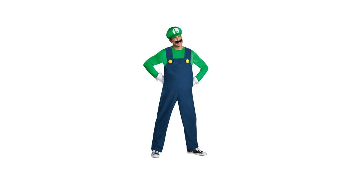 Luigi Deluxe Teen Halloween Costume | Teen Halloween Costumes 2018 | POPSUGAR Moms Photo 29  sc 1 st  Popsugar & Luigi Deluxe Teen Halloween Costume | Teen Halloween Costumes 2018 ...