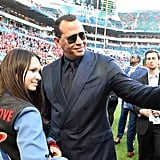 Alex Rodriguez Was So Proud of J Lo at the Super Bowl