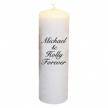 Michael & Holly Forever Candle ($35)