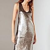 Tessa Sequin Tank Midi Dress
