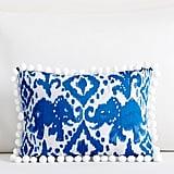 Reversible Tons of Fun Ikat Pillow