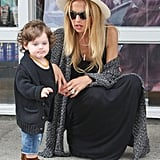 Rachel Zoe took Skyler to Malibu for the Fourth.
