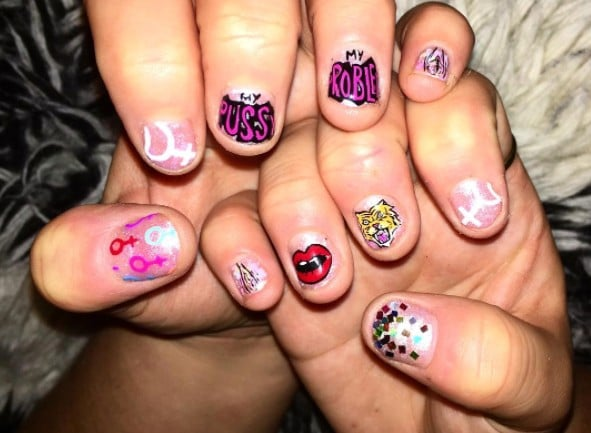 25 Nail Art Statements That Will Convince You the Future Most Certainly Is Female