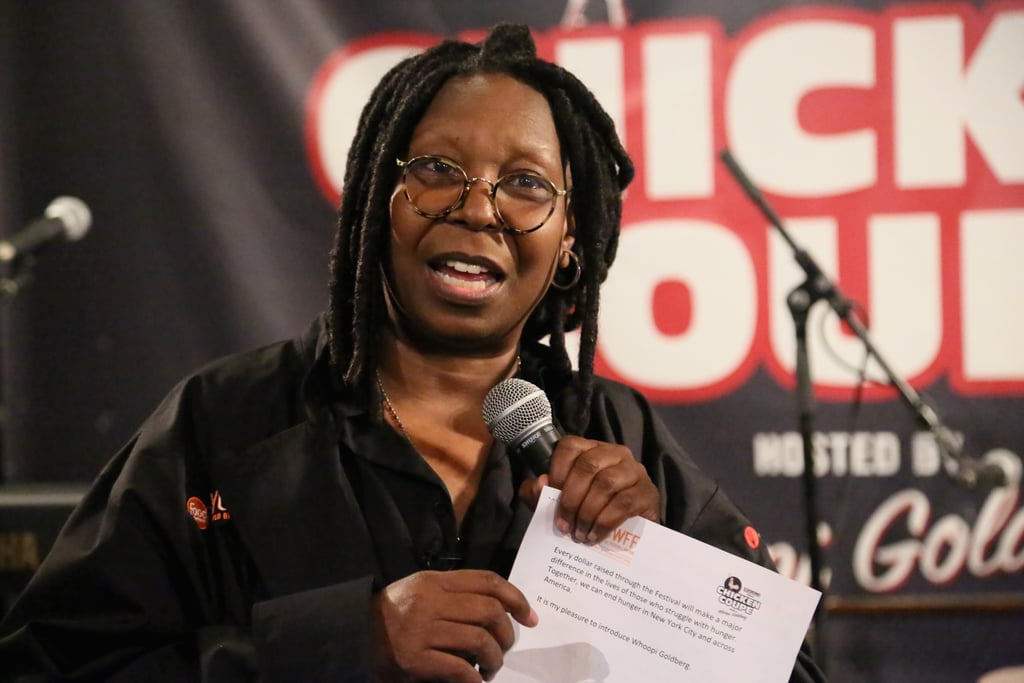 Whoopi Goldberg Cracked Jokes About Chicken