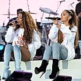 Victoria Monét and Ariana Grande