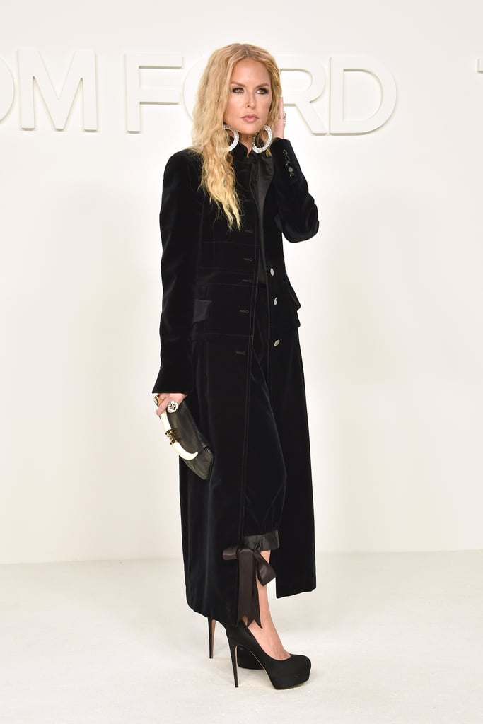 Rachel Zoe at the Tom Ford Fall 2020 Show