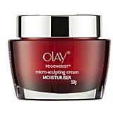 Olay Regenerist Micro-Sculpting Face Cream Moisturiser Fragrance-Free