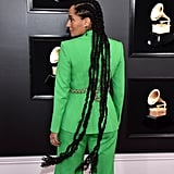 Tracee Ellis Ross in Superlong Straight Back Cornrows (Colour 1)