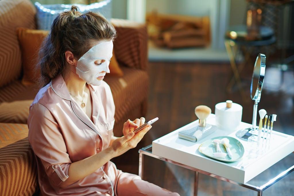 Sheet Mask + Guided Meditation