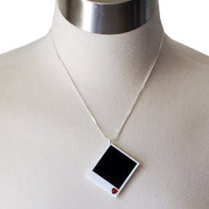Polaroid Necklace Keeps the Dream Alive