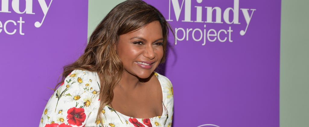 Mindy Kaling Found the Most Flattering Floral Dress in All the Land