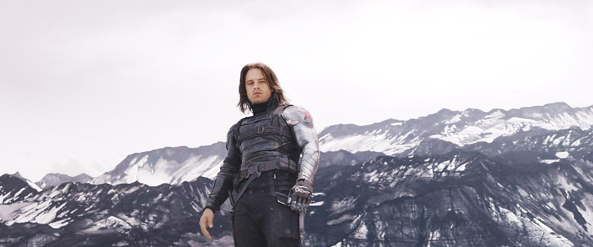 CAPTAIN AMERICA: CIVIL WAR, Sebastian Stan as Winter Soldier/Bucky Barnes, 2016. TM &  2016 Marvel. All rights reserved. /  Walt Disney Studios Motion Pictures / courtesy Everett Collection