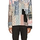 Loewe Zip Patchwork Jacket in Multi