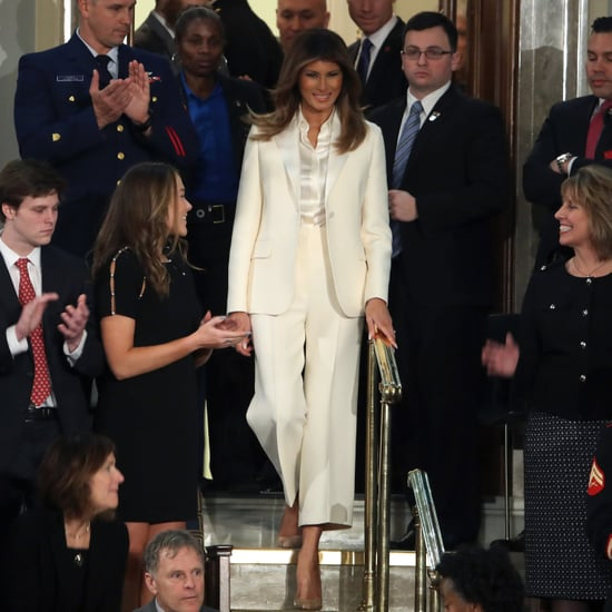 What Did Melania Trump Wear to the First State of the Union?