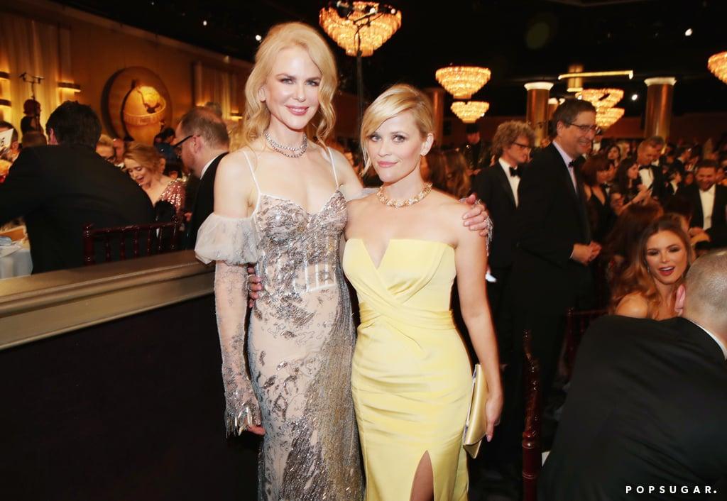 Big Little Lies co-stars Nicole Kidman and Reese Witherspoon made a glamorous pair.