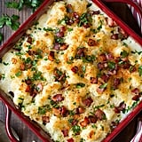 White Cheddar Cauliflower Gratin