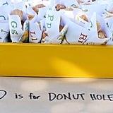 D Is For Donut Holes