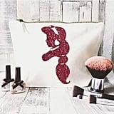 JustBeBohoCollective Disney Quote Makeup Bag —Jasmine