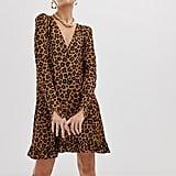 ASOS Leopard Print Minidress