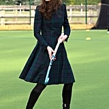 Kate Middleton Visiting St. Andrew's School in England