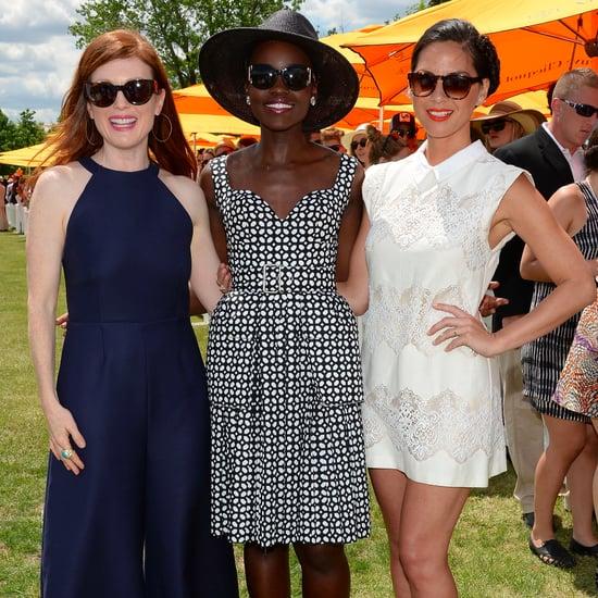 Celebrities at Veuve Clicquot Polo Classic 2014 | Photos