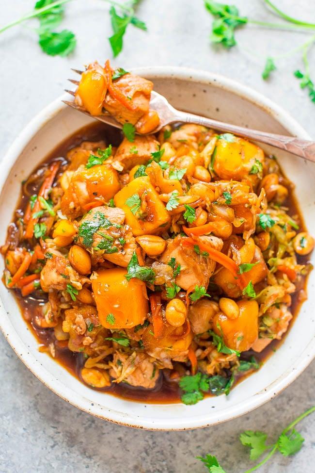 Sesame mango chicken healthy chinese food recipes popsugar sesame mango chicken forumfinder Gallery