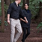 Day 15: Meghan Markle Wearing Prince Harry's Norrona Puffer Jacket